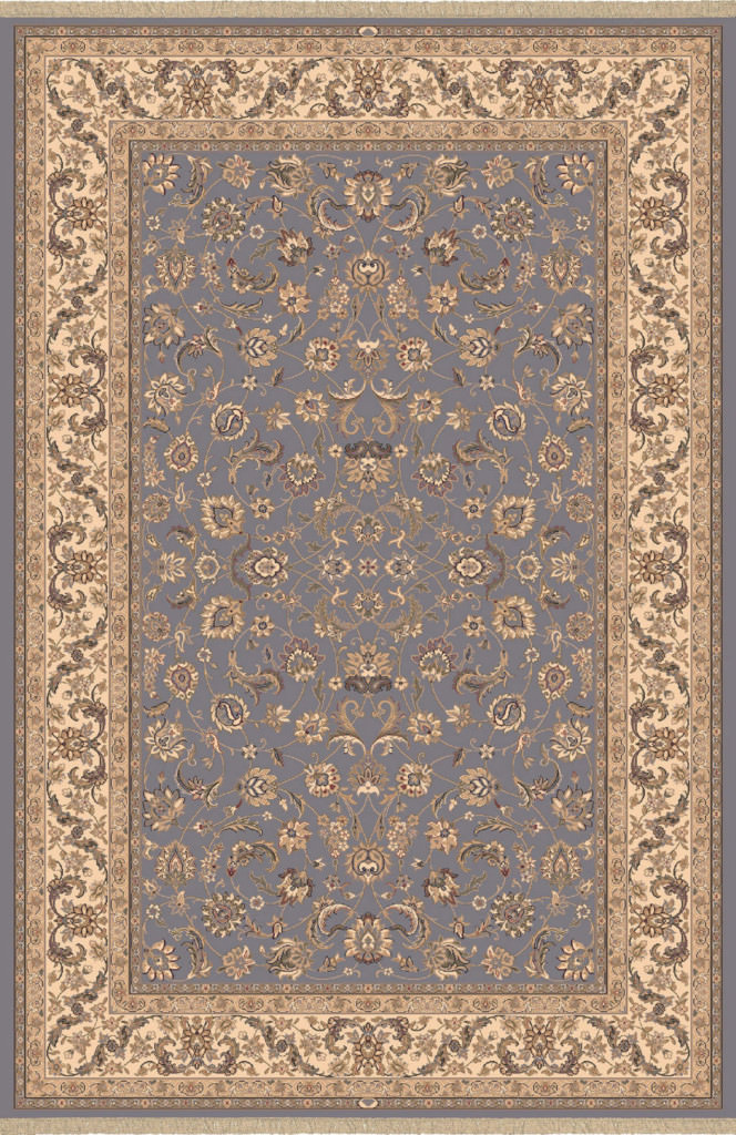 "Dynamic Brilliant 7'-10"" x 11'-2"" 72284-920 Blue Rug"
