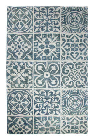 Dynamic Casual 8' x 11' 92334-550 Blue Rug