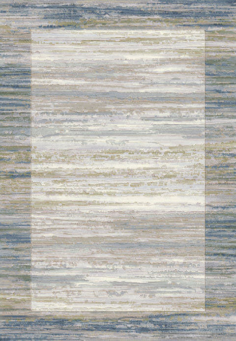 "Dynamic Eclipse 7'-10"" x 10'-10"" 79138-6191 Blue / Grey Rug"