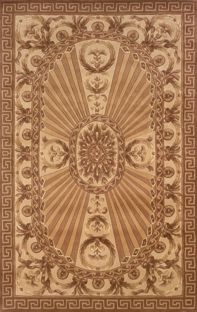 "Momeni Harmony 9'-6"" x 13'-6"" HA-15 Lt.Brown Rug"