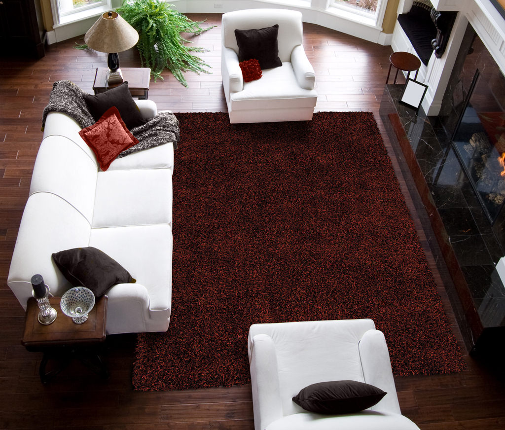 Dalyn Illusions IL69 Paprika Rug Room View