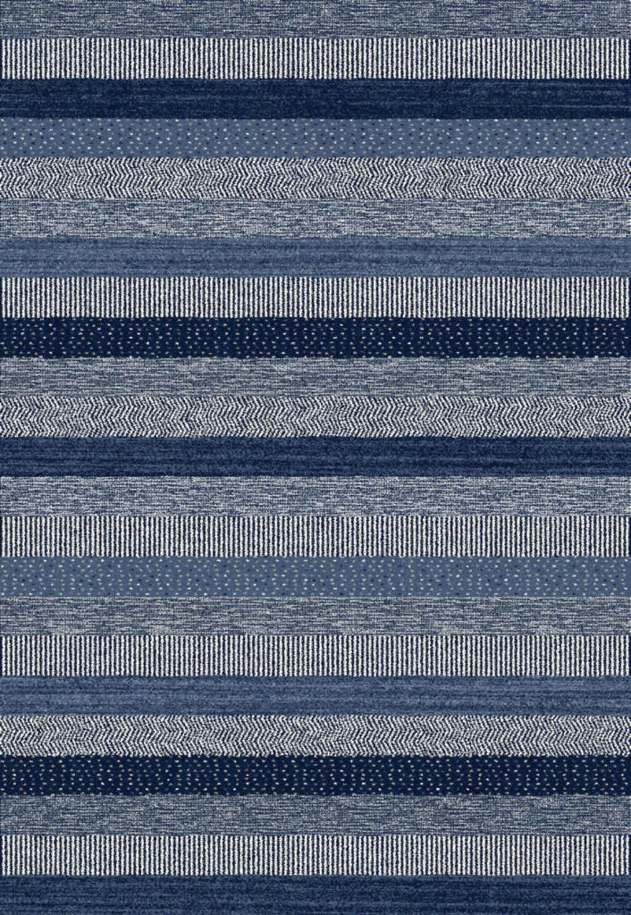 "Dynamic Infinity 7'-10"" x 11'-2"" 32743-5237 Blue Rug"