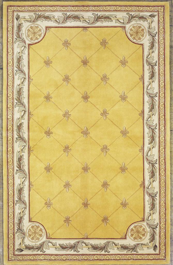 Jewel 308 Gold Fleur-De-Lis