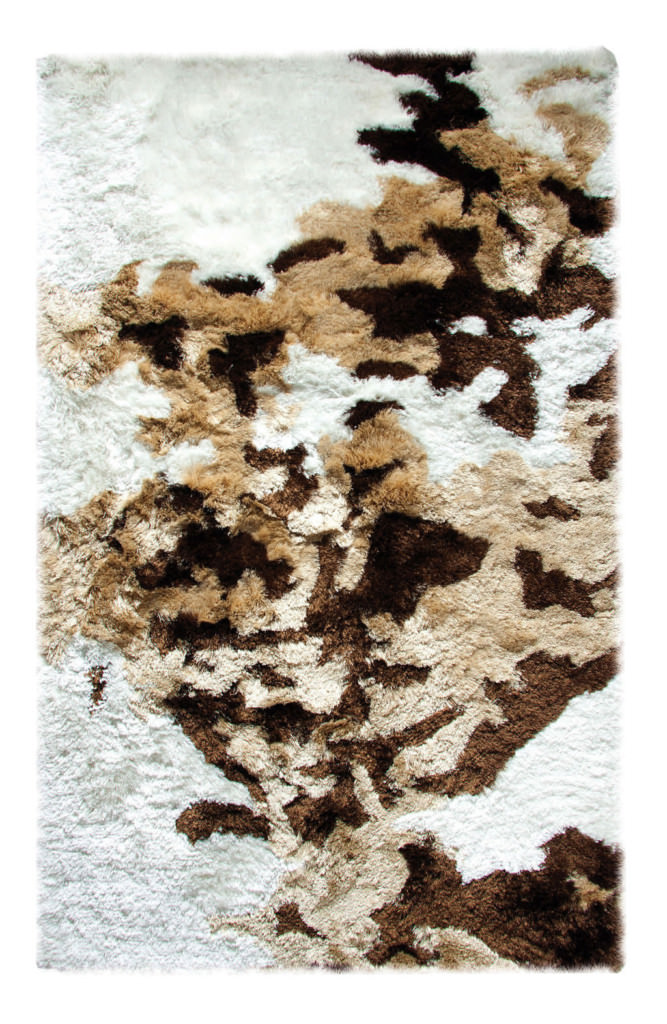 Dynamic Loft 8' x 10' 3100-114 Ivory / Beige / Brown Rug