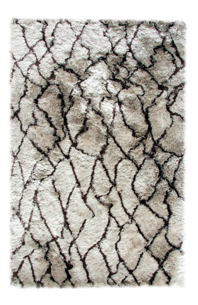 Dynamic Loft 8' x 10' 3101-913 Silver / Brown Rug