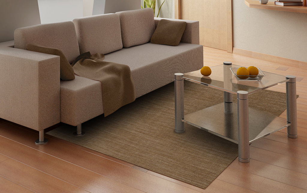Dalyn Monaco Sisal MC100 Mocha Rug Room View