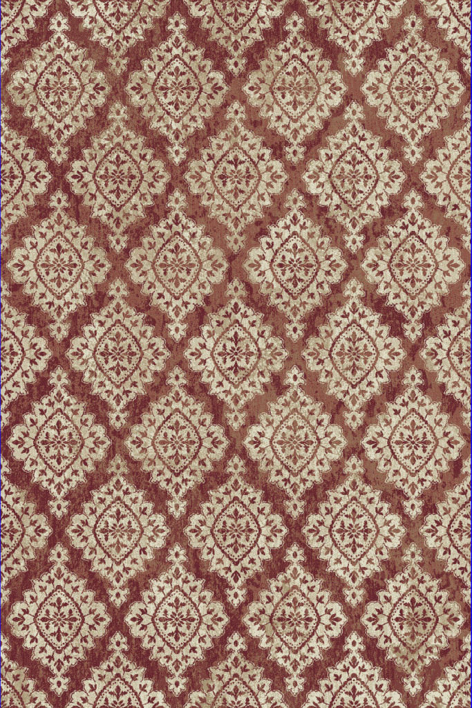 "Dynamic Melody 9'-2"" x 12'-10"" 985015-619 Terracotta Rug"