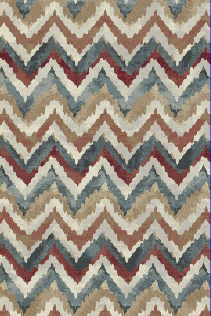 "Dynamic Melody 9'-2"" x 12'-10"" 985018-996 Multi Rug"