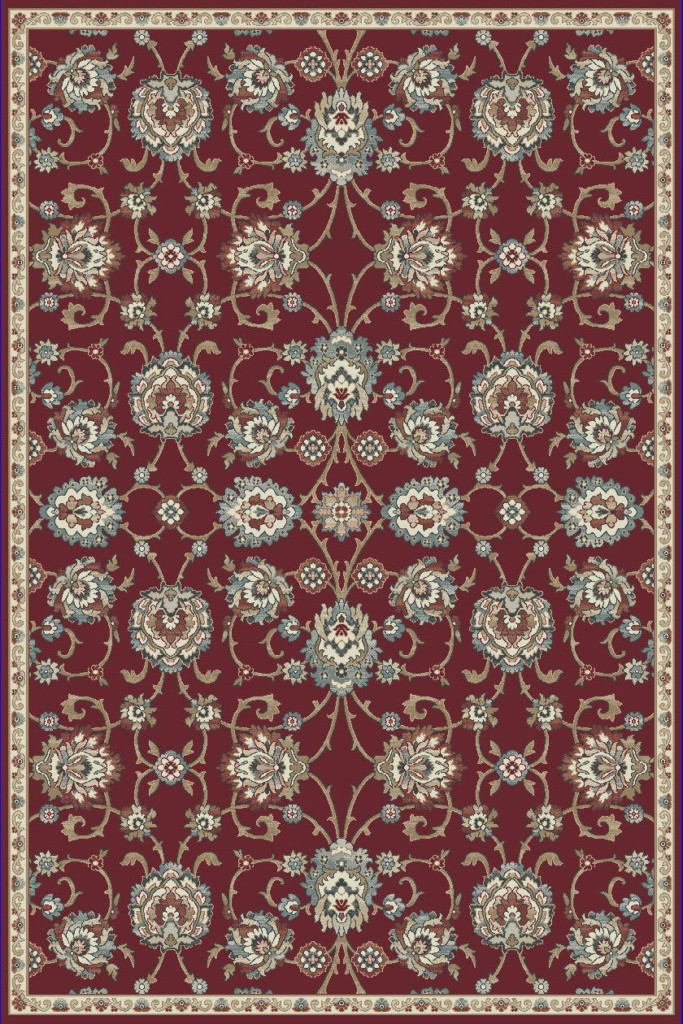 "Dynamic Melody 9'-2"" x 12'-10"" 985020-339 Red Rug"