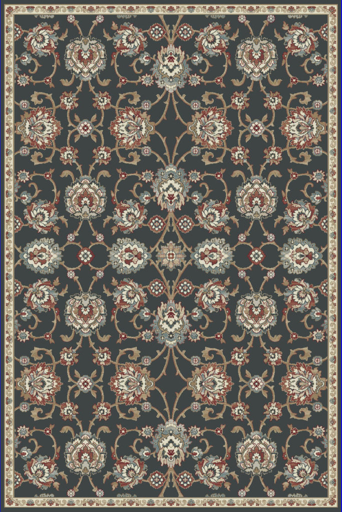 "Dynamic Melody 9'-2"" x 12'-10"" 985020-558 Anthracite Rug"