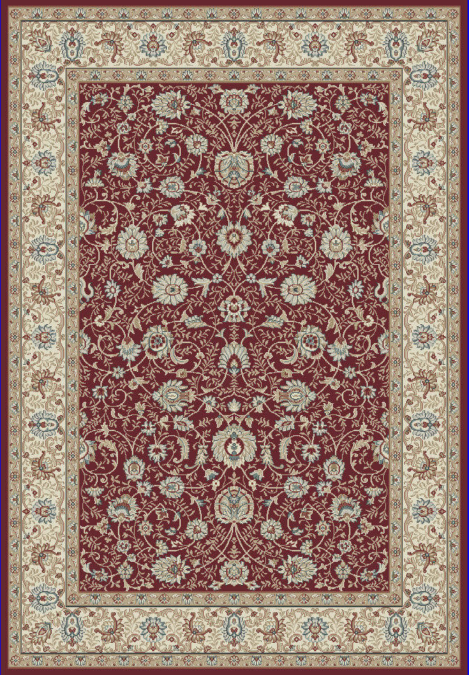 "Dynamic Melody 9'-2"" x 12'-10"" 985022-339 Red Rug"