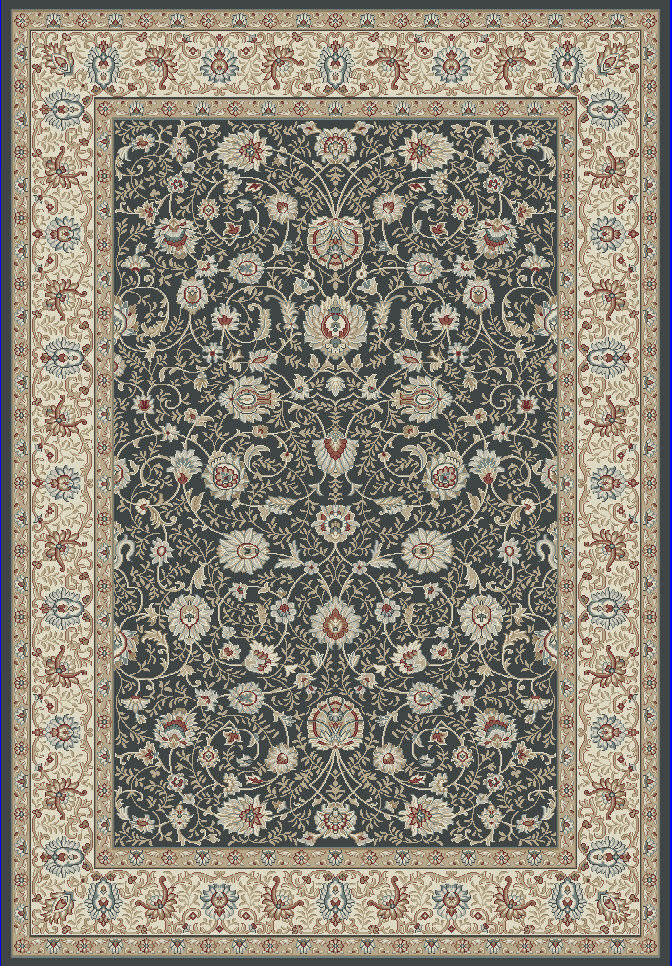 "Dynamic Melody 9'-2"" x 12'-10"" 985022-558 Anthracite Rug"