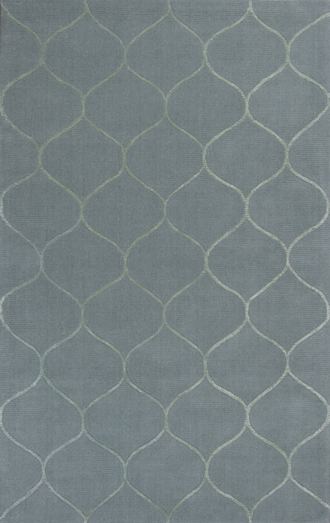 "KAS Transitions 3329 Frost Harmony 30"" x 50"" Rug"