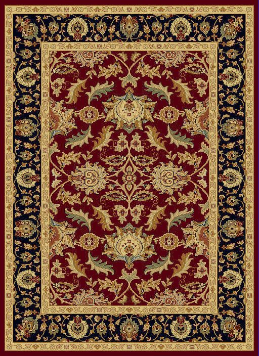 "Dynamic Yazd 7'-10"" x 10'-10"" 1744-310 Red Rug"