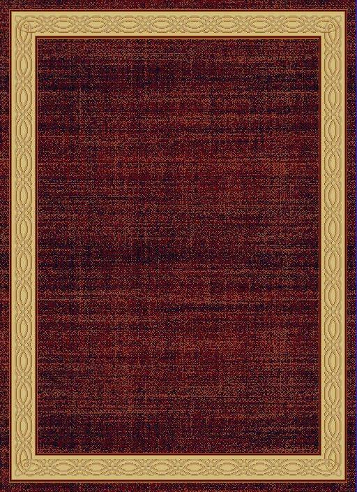 """Dynamic Yazd 7'-10"""" x 10'-10"""" 1770-310 Red Rug"""