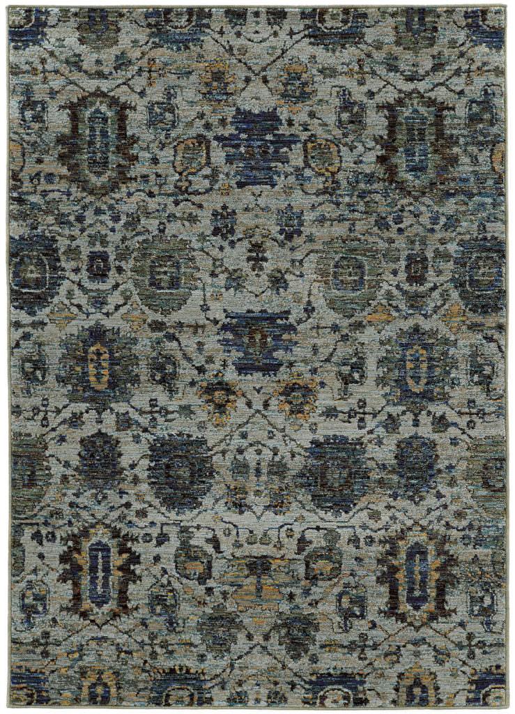Oriental Weavers Andorra ANR 7120A Blue / Navy Rug