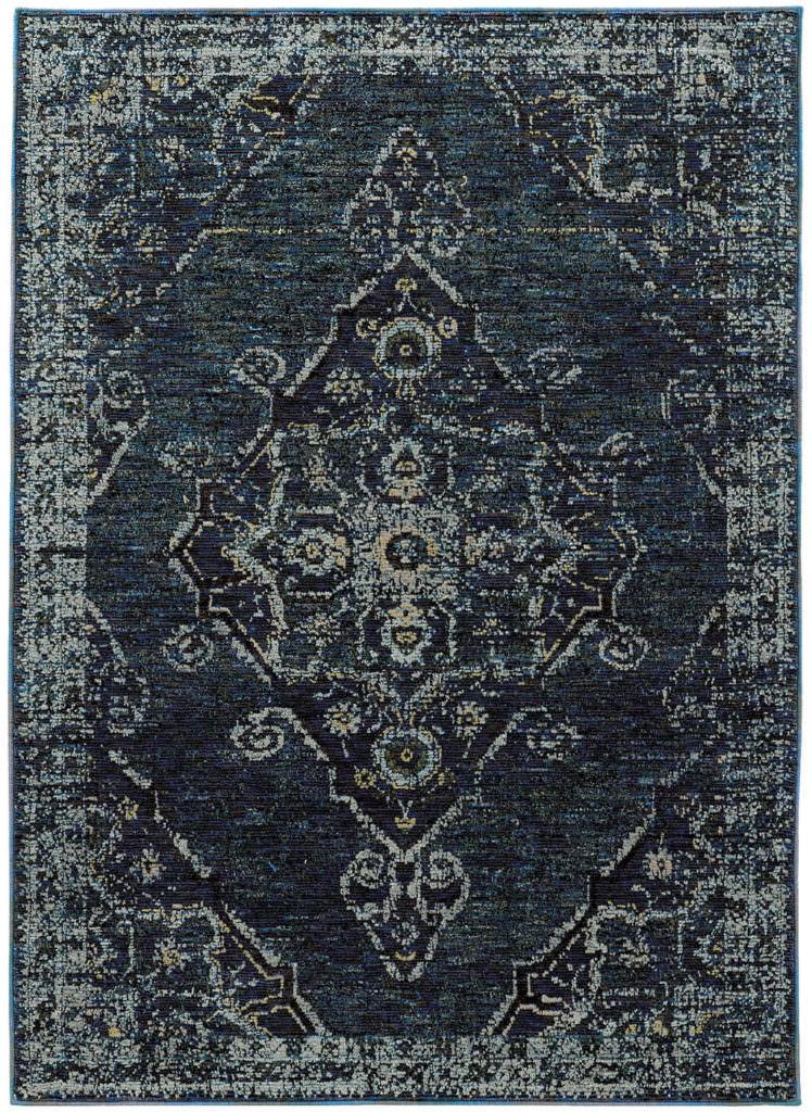 Oriental Weavers Andorra ANR 7135F Blue Rug