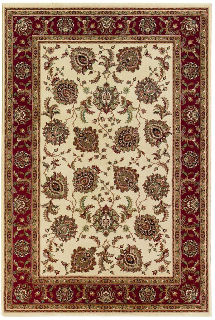 Oriental Weavers Ariana ARI 117J3 Ivory / Red Rug