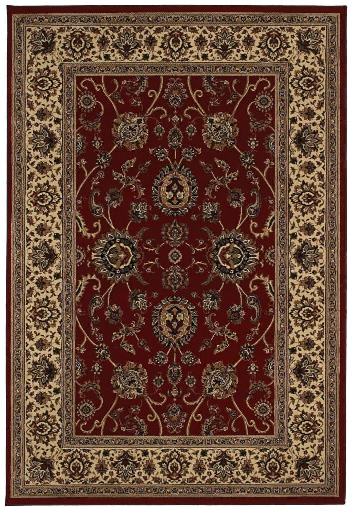 Oriental Weavers Ariana ARI 130/8 Red / Ivory Rug