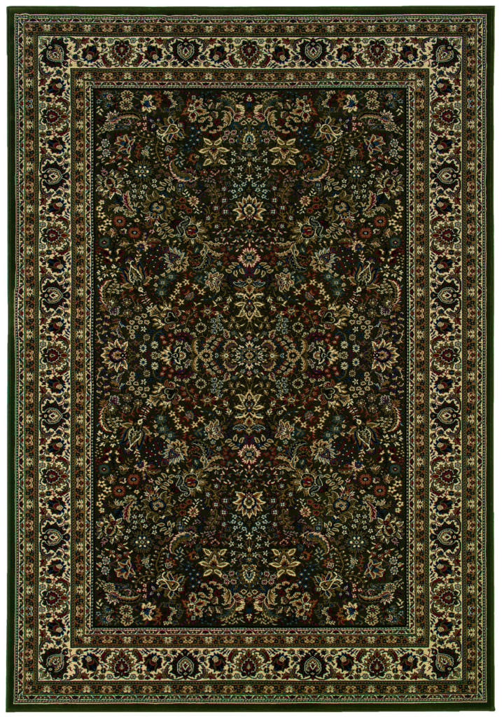 Oriental Weavers Ariana ARI 213G8 Green / Ivory Rug