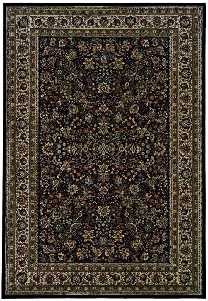 Oriental Weavers Ariana ARI 213K8 Black / Ivory Rug