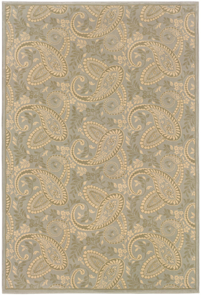 Oriental Weavers Ariana ARI 2284C Blue / Gold Rug