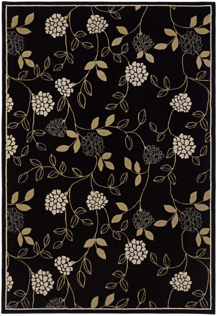 Oriental Weavers Ariana ARI 2285G Black / Green Rug