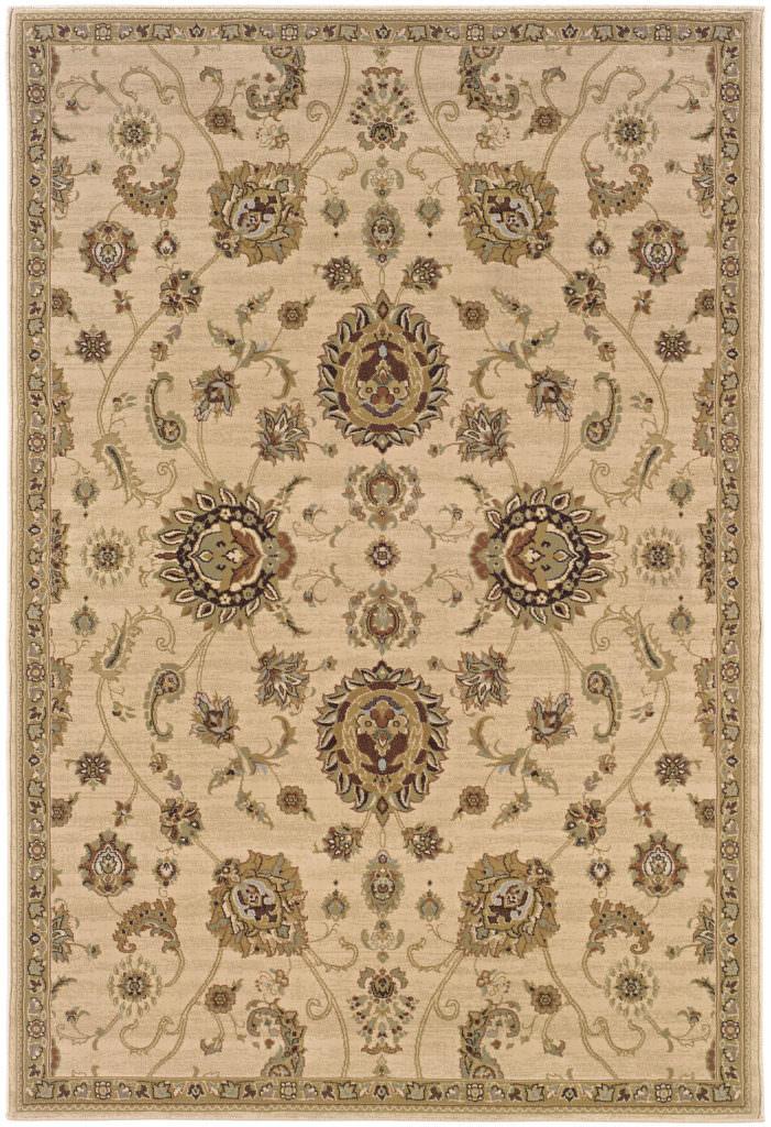 Oriental Weavers Ariana ARI 2302A Beige / Gold Rug