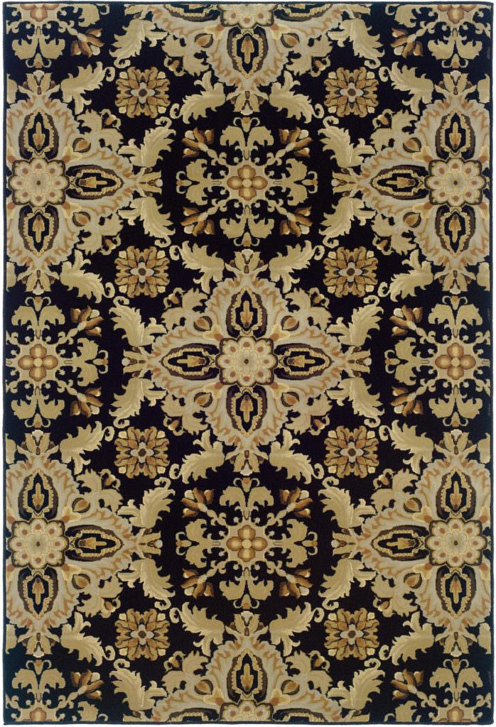Oriental Weavers Ariana ARI 2313B Black / Green Rug