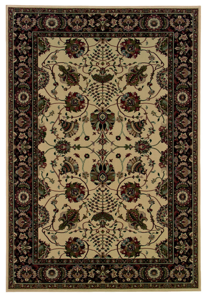 Oriental Weavers Ariana ARI 431I8 Ivory / Black Rug