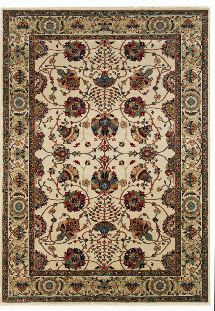Oriental Weavers Ariana ARI 431O3 Ivory / Red Rug