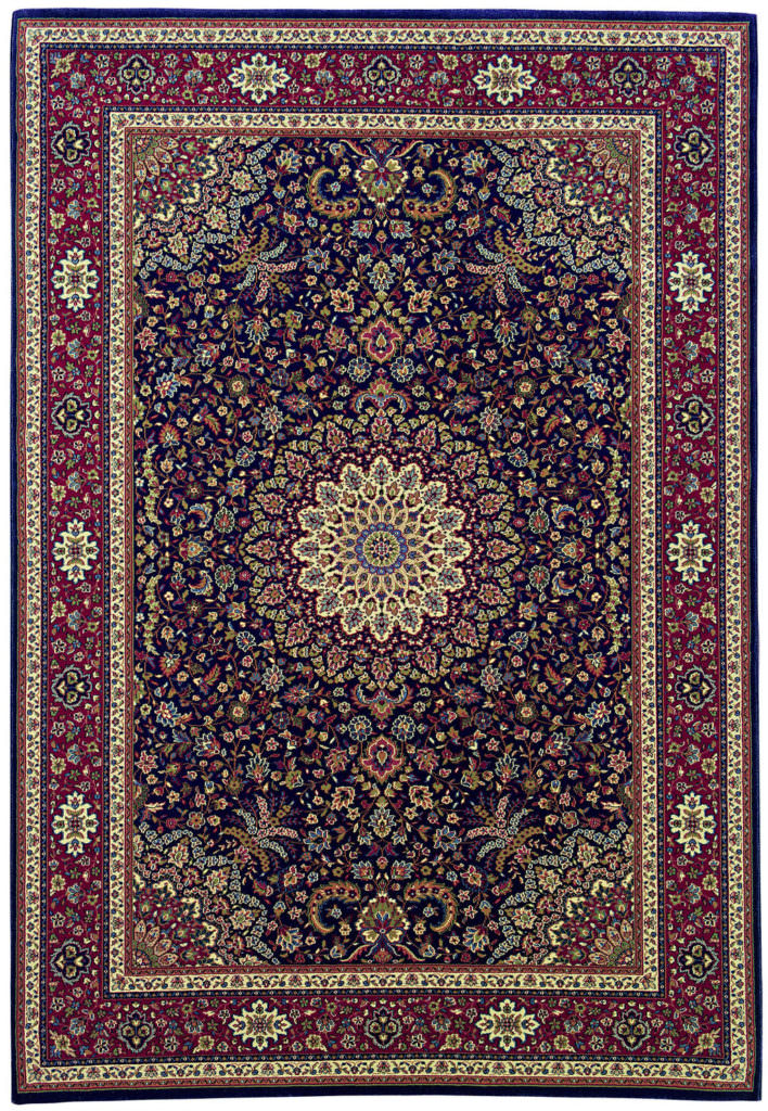 Oriental Weavers Ariana ARI 095B3 Blue / Red Rug