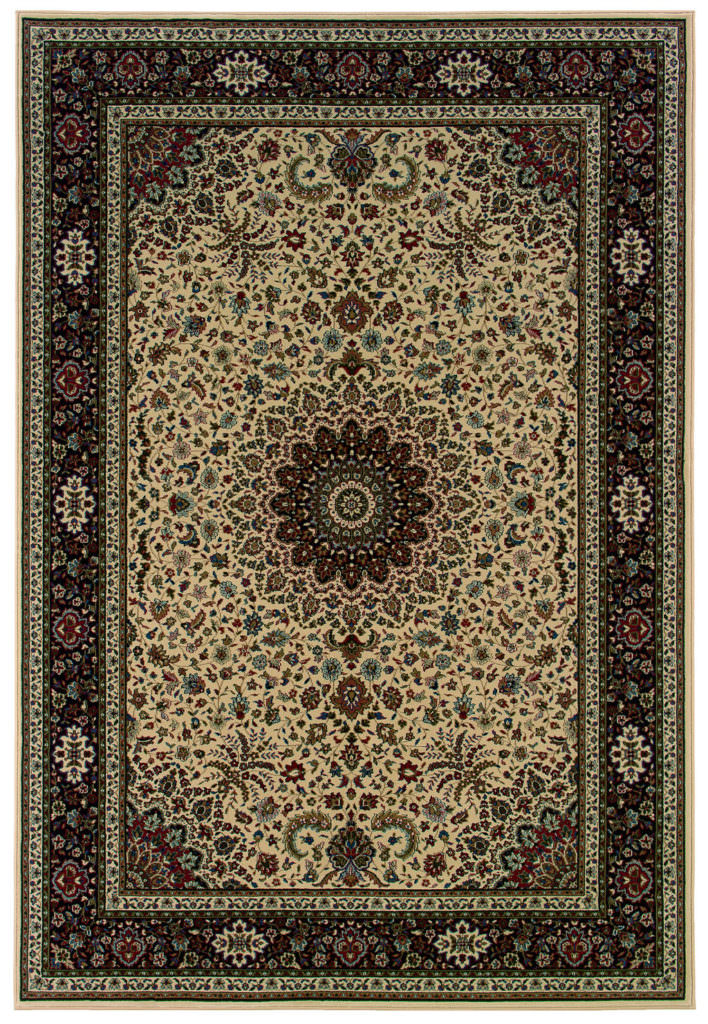 Oriental Weavers Ariana ARI 095I8 Ivory / Black Rug