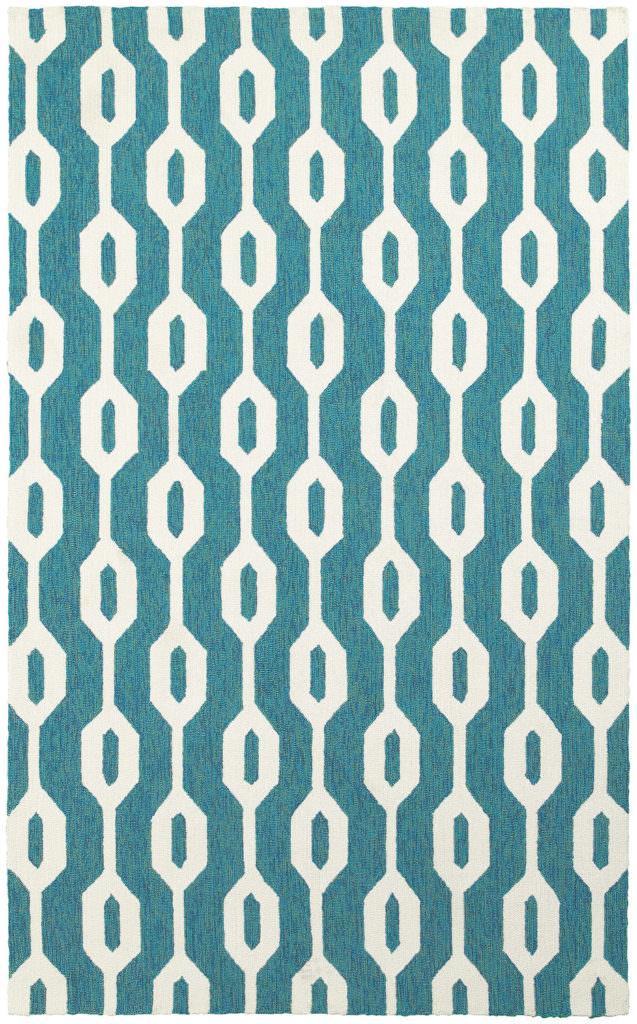 Tommy Bahama Atrium ATU 51102 Blue / Ivory Rug
