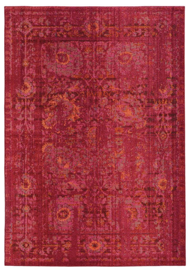 EXR 3333R Pink / Orange Rug