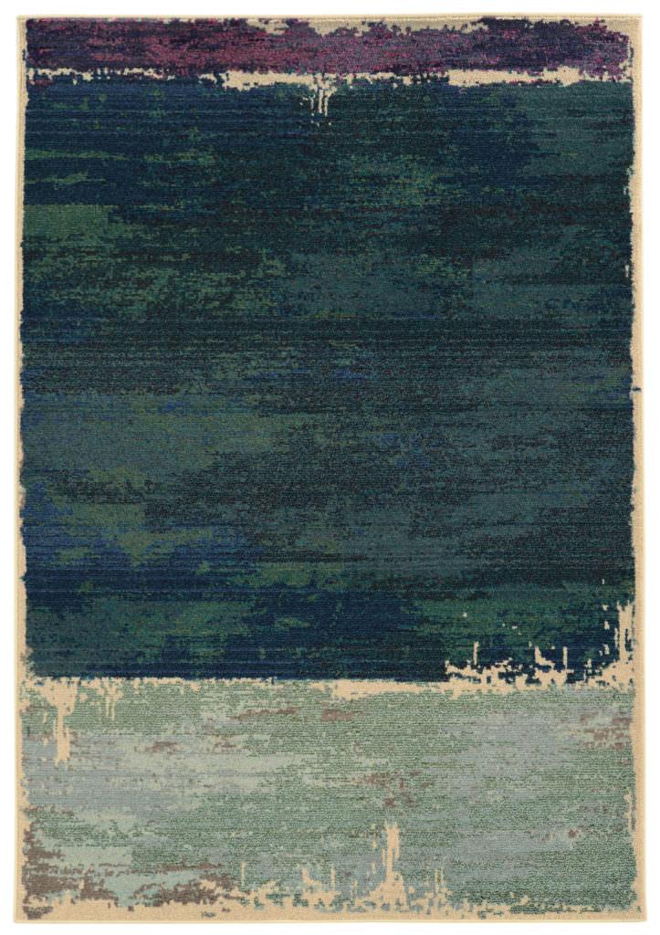 EXR 5501G Blue / Green Rug
