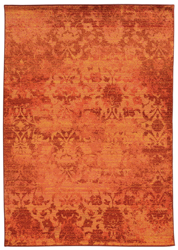 EXR 5997C Orange / Yellow Rug
