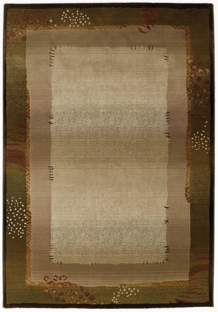 Oriental Weavers Generations GNR 112G1 Green / Beige Rug