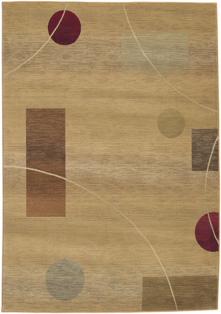 Oriental Weavers Generations GNR 1504G Beige / Red Rug