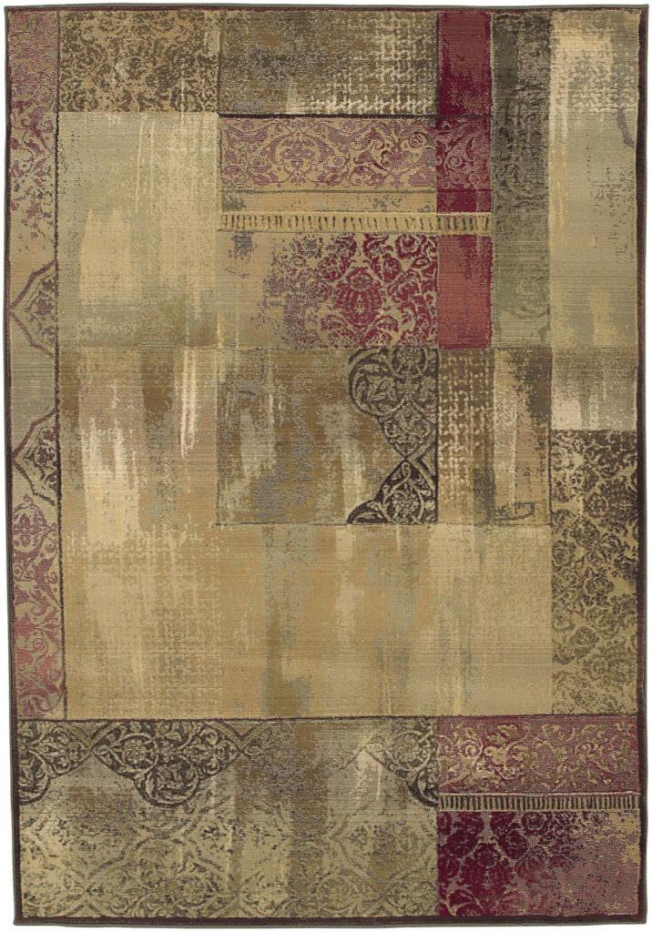 Oriental Weavers Generations GNR 1527X Green / Beige Rug