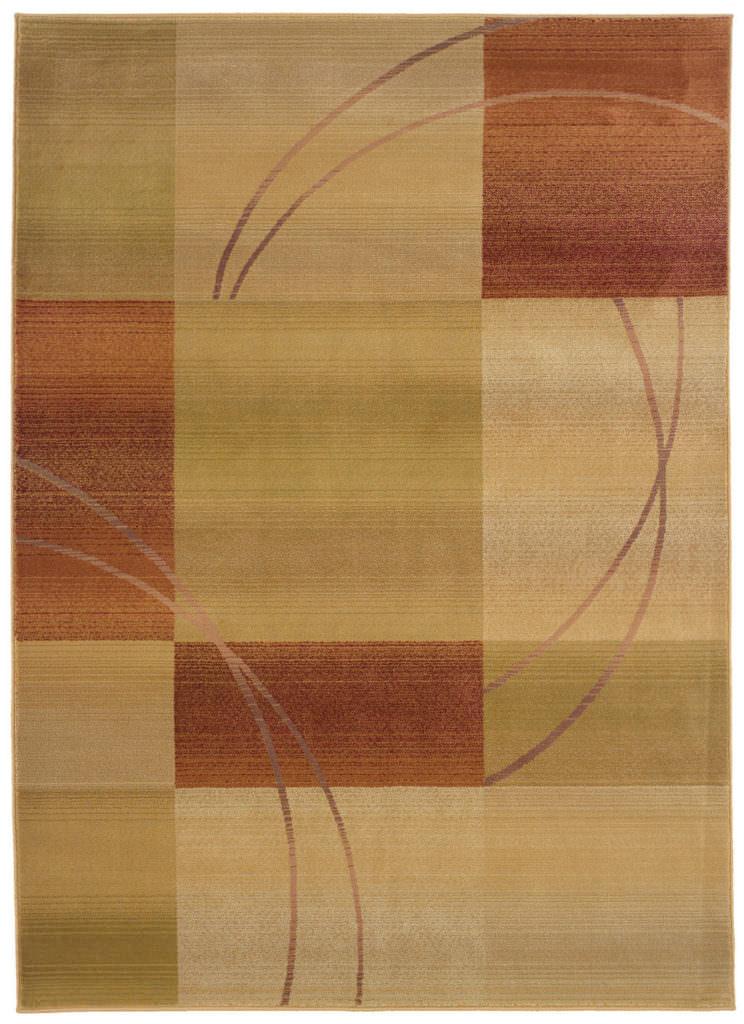 Oriental Weavers Generations GNR 1608D Beige / Rust Rug