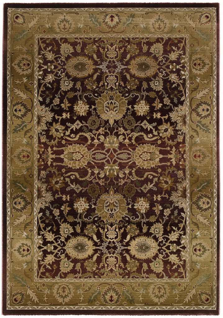 Oriental Weavers Generations GNR 1732M Purple / Gold Rug