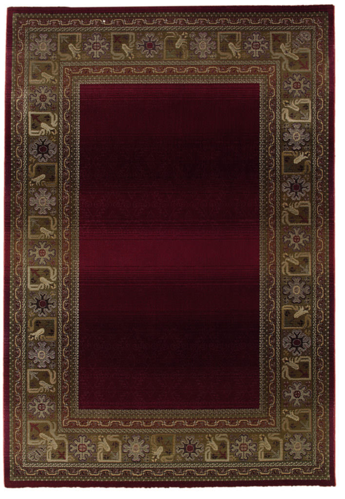 Oriental Weavers Generations GNR 3436R Red / Green Rug