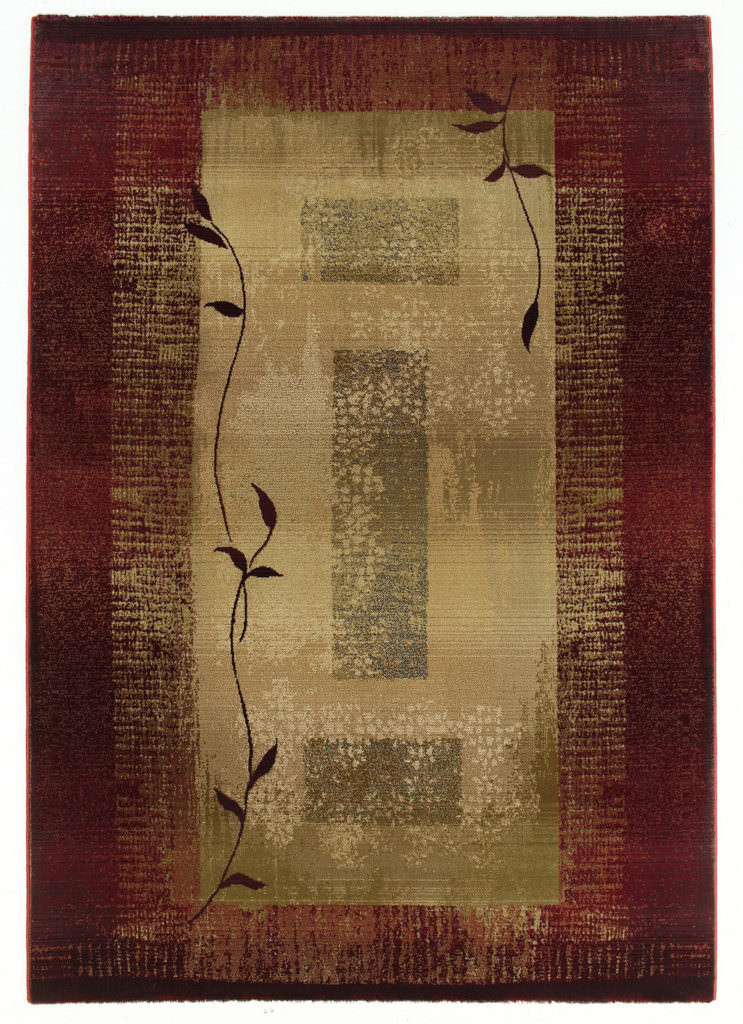 Oriental Weavers Generations GNR 544X1 Red / Beige Rug