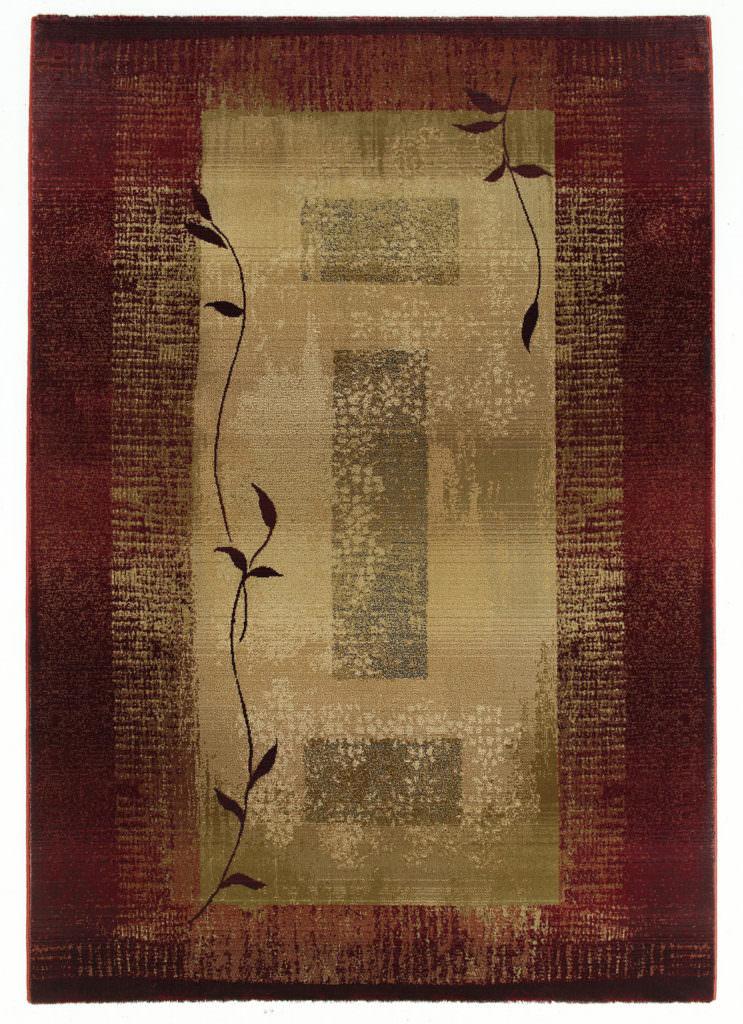Oriental Weavers Generations GNR 544X1 Red / Beige Rug