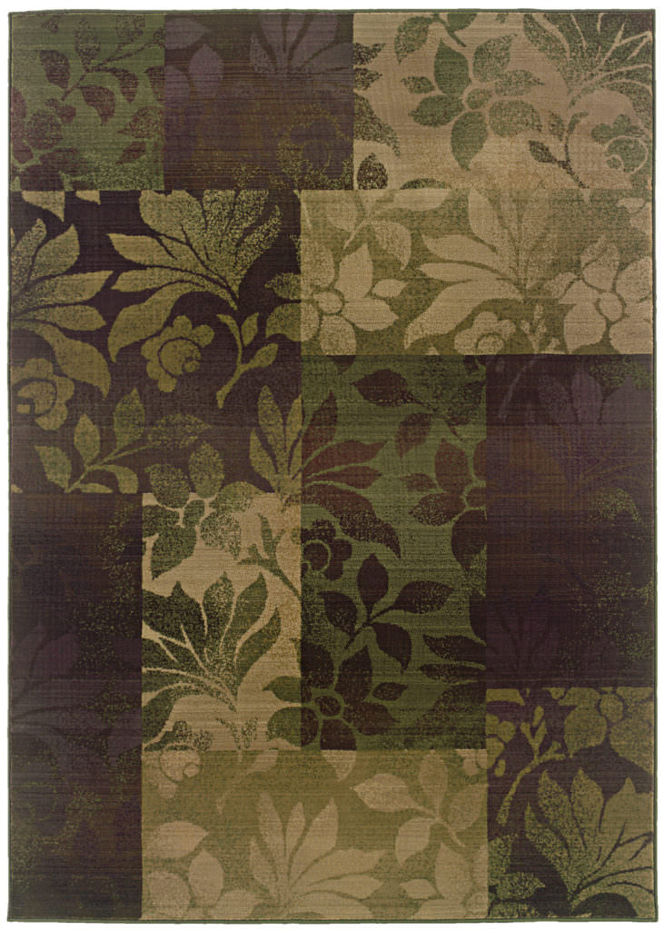Oriental Weavers Generations GNR 8006A Purple / Green Rug