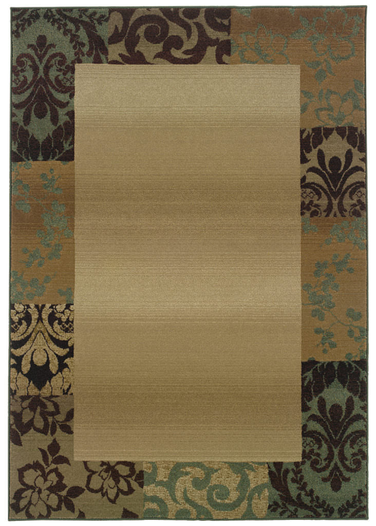 Oriental Weavers Genesis GNS 2060Y Beige / Green Rug