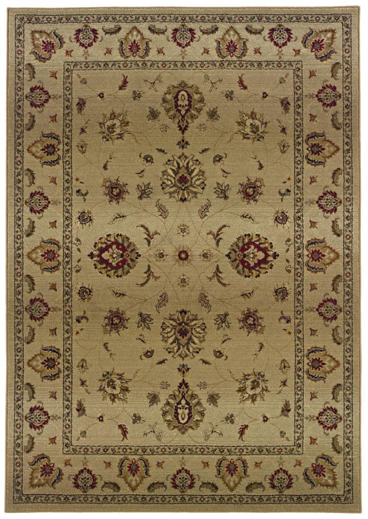 Oriental Weavers Genesis GNS 034J1 Beige / Red Rug