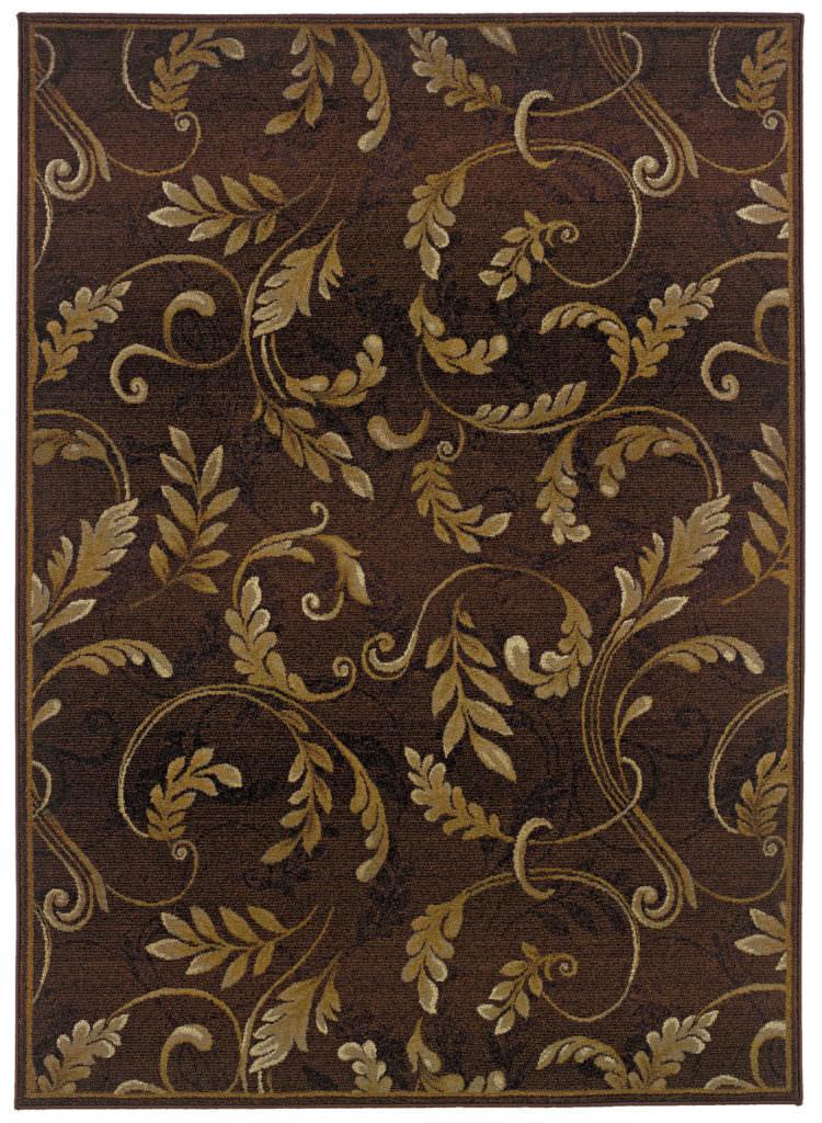 Oriental Weavers Genesis GNS 003X1 Brown / Beige Rug