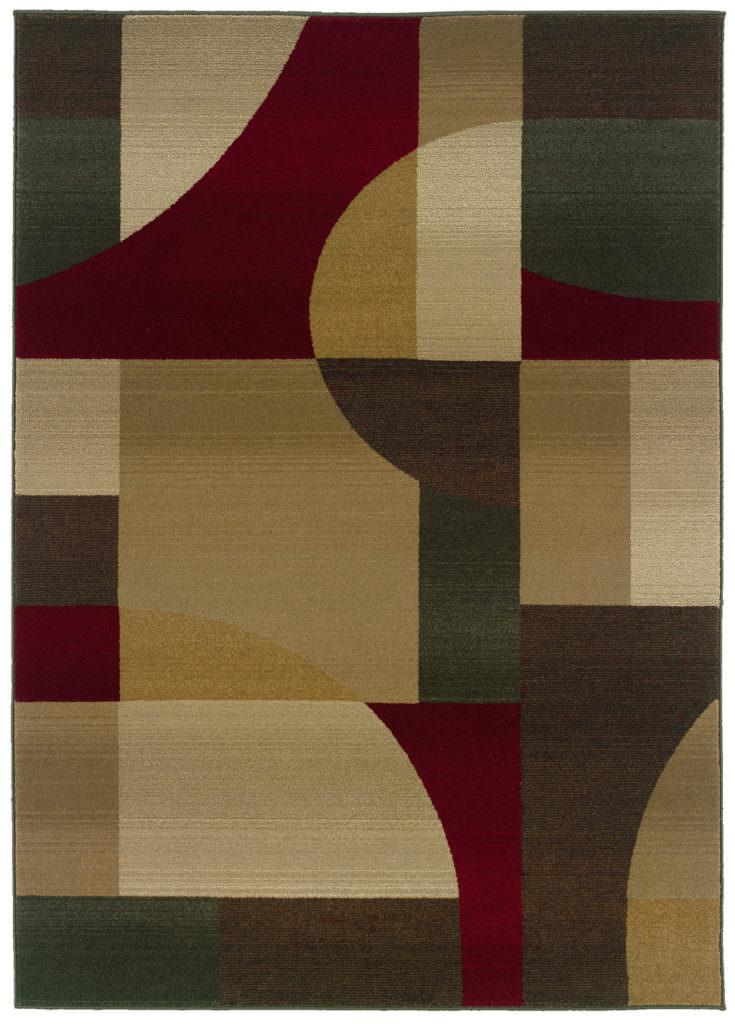 Oriental Weavers Genesis GNS 5560D Tan / Brown Rug